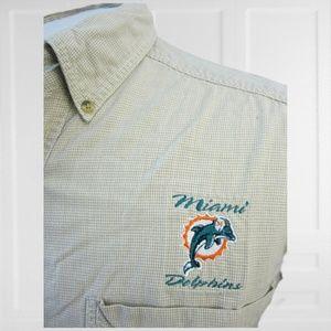 Lee Sport vintage 90s Miami Dolphins shirt sz L